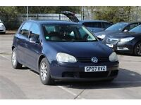 2007 VW GOLF 1.6 FSI MANUAL***HPI CLEAR-MANUAL***DRIVES EXCELLENT-BARGAAIN***ONLY £1750