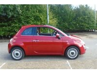 For sale a fantastic brilliant red FIAT 500 1200 Lounge