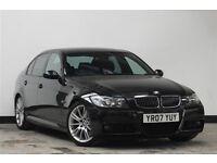 SUPER BARGAIN PRICE..!!! - 2007 BMW 3 Series 3.0 325d M Sport 4dr Saloon Diesel Manual msport