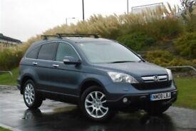 Honda CRV 2008 EX Diesel Leather, Sat Nav Heated Seats Reverse Camera Pan roof good condition