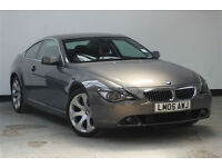 2005 BMW 645 4.4 auto Ci+FULL BMW HISTORY+HEADS UP DISPLAY+M SPORT+6 SERIES+SWAP
