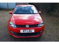 VOLKSWAGEN POLO 1.6 SEL TDI 3d 89 BHP (red) 2011