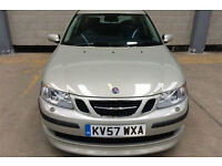 57 SAAB 9-3 2.0T AERO SPORTS AUTOMATIC 4DR SILVER/CHAMPAGNE 55K FSH 9 SERVICES