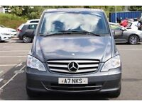 2012 MERCEDES VITO 116 CDI SPORT DUALINER REAR SEATS + WINDOWS 6 SPEED SPARES OR REPAIRS TRADE SALE