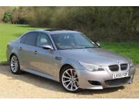 2005 BMW M5 M5 - ONLY 43,000miles DUE IN 24TH APRIL Petrol Automatic in Grey
