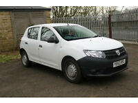 2014 Dacia Sandero 1.2 16v PETROL MANUAL Access WHITE PX WLCOME