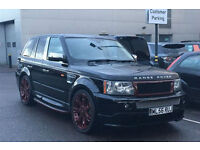 and Rover Range Rover Sport 2.7 TD V6 HSE 5dr +RARE WITH FULL BODYKIT+FSH+