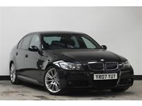 SUPER BARGAIN PRICE..!!! - 2007 BMW 3 Series 3.0 325d M Sport 4dr Saloon Diesel Manual msport