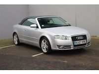 2007 Audi A4 Cabriolet 2.0 German Diesel Convertible, Well Maintained HPi & Vosa Cleared Only £3750