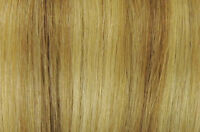 """100% Human 22"""" #18/613 Remy Blonde Mixed Clip In Extensions"""