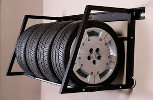 Tire Rack - Heavy Duty Wall Mount $50.00 Comox / Courtenay / Cumberland Comox Valley Area image 1
