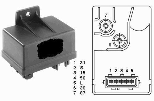 peugeot expert glow plug relay ebay glow plug relay wiring diagram lb7 duramax