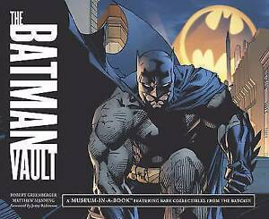 The Batman Vault: A Museum-In-A-Book with Rare Collectibles Green Point Gosford Area Preview