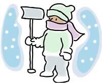 Offering Snow Shovelling