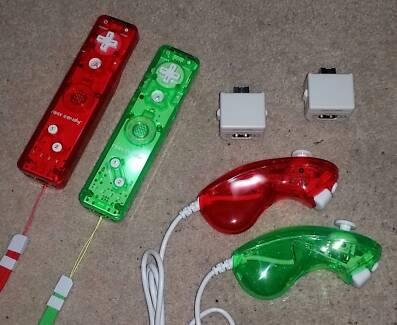 Wii/Wii U Controllers
