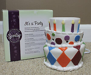 Brand new Beautiful large Happy birthday scentsy warmer