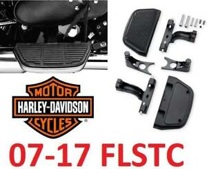 NEW HARLEY DAVIDSON FOOTBOARDS - 131082085 - 07-17 FLSTC MOTORCYCLES PASSENGER FOOTBOARD AND MOUNT KITS