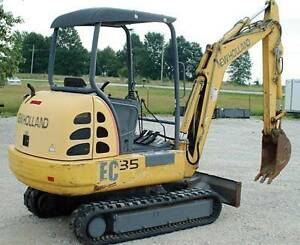 looking for new holland ec25 or ec35