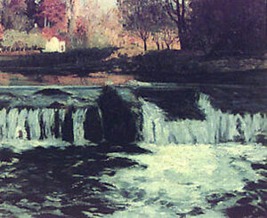 """Maurice G. Cullen Limited Edition """"Waterfalls"""""""