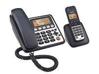 Binatone Concept Combo 3525 Twin Corded & DECT Phone Answer Machine 10b2713 sa5 4rz