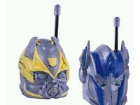 Distinguished Transformers Age of Extinction Walkie Talkies