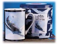 Spitfire Mug & Tin