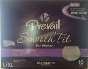 PREVAIL WOMEN, MAXIMUM ABSORBENCY UNDERWEAR