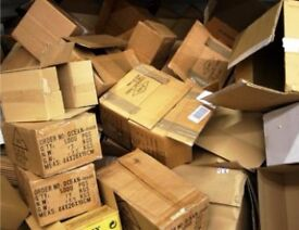 FREE ---BOXES FOR MOVING - ANY SIZE - ALL YEAR AROUND---FREE