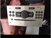 2010 Vauxhall corsa stereo unit/ CD player