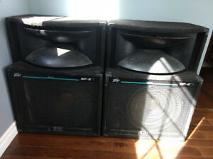 Peavey SP 2 Ti speakers