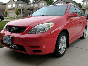 2003 Toyota Matrix HB - Now reduced price and safetied!