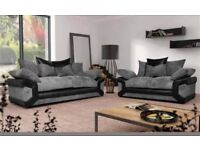 GREAT SAVINGS FREE FOOTSTOOL with 3&2 sofas