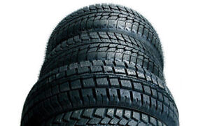 New winter tire start $60-, install 50% off