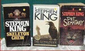 Lot of 3 Stephen King Pocket Books
