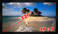 ~Fixed Frame Projector Projection Screen Perfect f Home Theatre