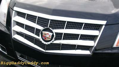 Cadillac CTS 2008 2009 2010 2011 ABS CHROME GRILLE OVERLAY INSERT 8 PIECE !!  Abs Chrome Grille Insert