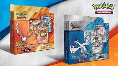 Pokemon TCG: Legendary Battle Decks - Ho-Oh and Lugia Bundle Set [Card Game] (Legendary Battle Decks Ho Oh And Lugia)