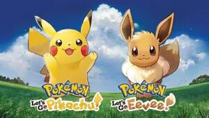 Buying Pokemon Let's Go Pikachu or Eevee