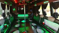 PARTY BUS & LIMOUSINE SERVICE.