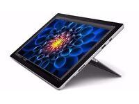 New Surface Pro 4, i5 CPU, 8GB Ram, 256GB SSD Warranty July 2019