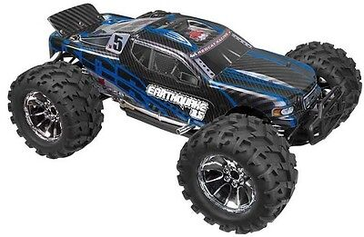 Redcat Racing Earthquake Nitro Gas 3.5 4wd 1/8 RC 2.4Ghz Truck STARTER KIT Bl/Be