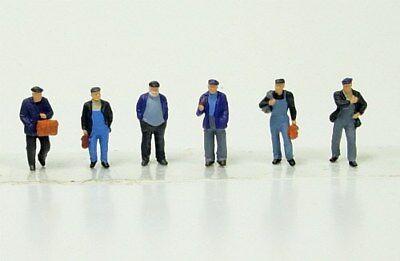 75051 PREISER Industriearbeiter, Hafenarbeiter, Arbeiter  Spur TT