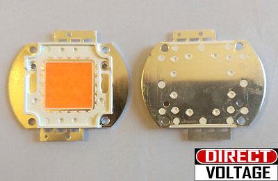 30w Full Spectrum Led Light Chip. 380-840nm. Indoor Diy Plant Grow Light