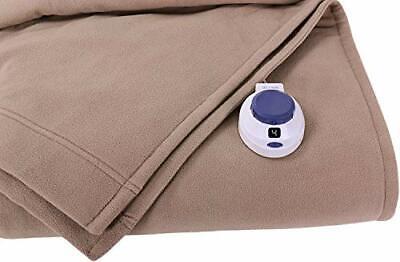 Soft Heat Luxury MicroFleece Low Voltage Electric Heated Bla