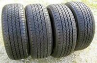 Set of 4 235/70/16 Michelin 70% tread left