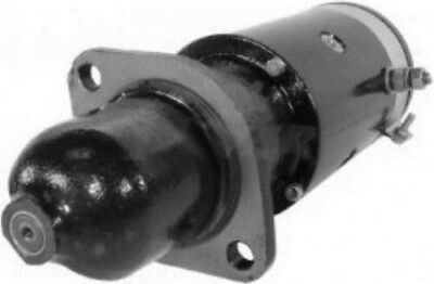New 6 Volt 9 Tooth Starter Fits Massey Ferguson Tractor To-20 To-30