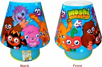 Moshi Monsters Kool Lamp Bedside Kids Bedroom Brand New Gift