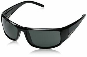 854874c106e Bolle King Shiny Black Frame Polarized Hot Sunglasses TNS Lens 10998 ...