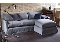 SOFA . COM - LARGE RIGHT HAND CHAISE SOFA RRP £2700