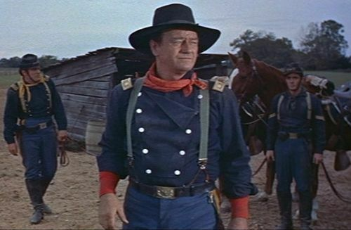 John Wayne Style Bib Front Cavalry Shirt Size 50 fromThe Horse Soldiers